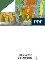Instrucciones Convenciones y Coordenadas Proyectos Juveniles, Colombia, Modulo 1