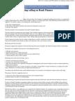 Methods of Computing Ceiling on Bank Finance