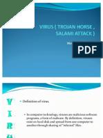 Virus ( Trojan Horse and Salami Attack )1