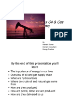 Fundamentals of Oil & Gas Industry