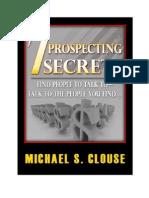 Prospecting Secrets