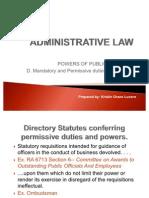 (r1) Administrative Law
