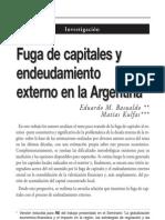 Eduardo M. Basualdo, Matías Kulfas (2000)- Fuga de capitales y endeudamiento exterrno en la Argentina - Realidad Económica