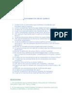 Cuestionario de Enlace QuÍmico.