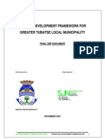 Greater Tubatse Spatial Development Plan