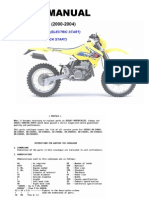Suzuki DR-Z400E (2000-2004) Parts Catalogue