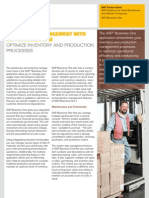 Warehouse and Production Management With SAP Business One
