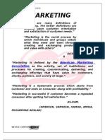 15921164 Marketing Process of Nestle Corporation