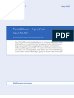 AMR_Research_The AMR Research Supply Chain Top 25 For