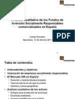 FETS Analisis de Los Fondos ISR Comercializados en Espana v5