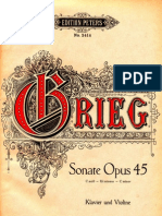 Grieg Op.45 Violins on Ate Nr.3 Piano and Violin EP