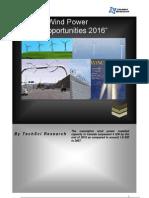 Canada Wind Power Market Opportunities 2016_Sample1