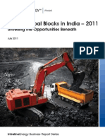Captive Coal Blocks in India - 2011 - 2nd edition_Infraline Energy