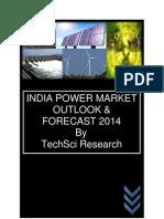 India Power Market Forecast Sample.