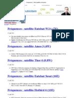 Fréquences _ Télé Satellite et Numérique