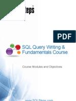 SQL Query Writing & Fundamentals - Content