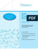 2005-06 Sat Preparation Booklet