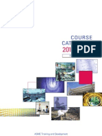 ASME Course Catalog 2011-2012