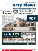 Malvern Property News 22/07/2011