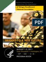 2011 ORR National Consultation Program Agenda