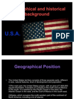 Geographical and Historical Background