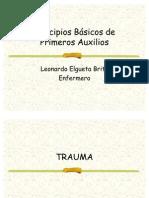 Clase 1 A Principios Básicos de Primeros Auxilios