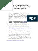REGISTRO+DE+PROVEEDORES+DE+LA+Secretaria+de+Estado+La+Mujer+y