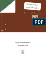 COMO GERIR UM MUSEU - MANUAL PRÁTICO - ICOM
