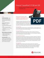 Sound Point Ip330 320 Datasheet