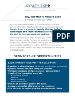 2012 Loyalty Expo Sponsorship