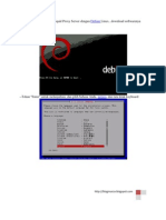 Cara Install Dan Membuat Squid Proxy Server Dengan Debian Linux