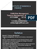 Risk Management & Treasury Management