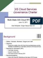 WSCA GIS Governance Overview