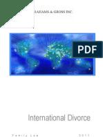International Divorce South Africa
