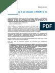 Propuestas Para El Uso Adecuado y Eficiente de Los Medicamentos