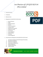 Human Resources Practices of LAUGFS ECO Sri