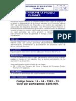Curso Primavera Project Planner
