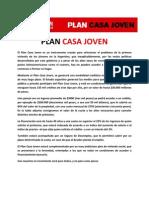 Plan Casa Joven - Ricardo Alfonsin 2011