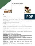 Glossario Do Vinho