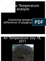 Playground Heat Study