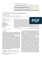 Cost Optimization of Industrial Steel Building Structures