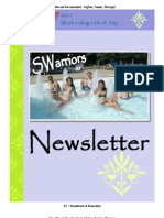 Newsletter Week 5 2011