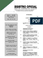 Ley Orgánica para la Regulación y Control del Tabaco de Ecuador (RO 497, 22 jul 2011)
