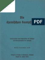 Die chemischen Kampfstoffe - Reichsminister der Luftfahrt  - 1939