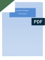 Grammar Package 1 Parts of Speech Preview