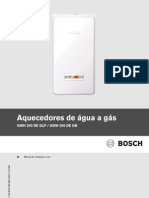 Manual Aquecedores de Agua a Gas GWH300D