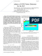 Radiation Hardness of CCD Vertex Detectors for the ILC