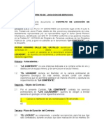 Contrato de Locacion Geologo