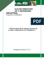 Port a Folio de Servicios s&s Salud y Seguridad Industrial - Colfelpetrol