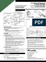3832EC Face Frame Conversion Kit
